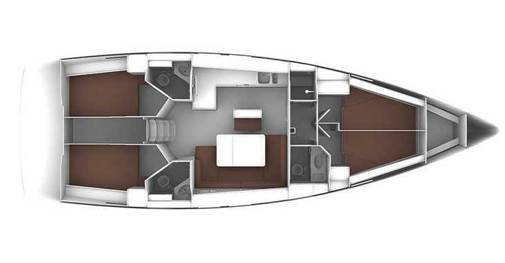 Alquilar velero Bavaria 46 Cruiser en Marina Baotić, Seget Donji