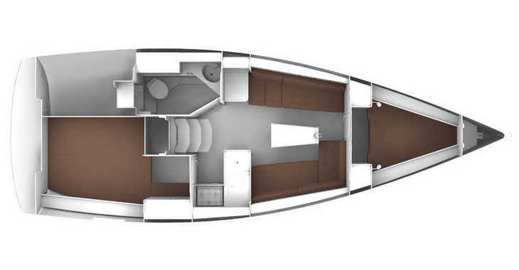 Alquilar velero Bavaria Cruiser 33 en Marina Baotić, Seget Donji