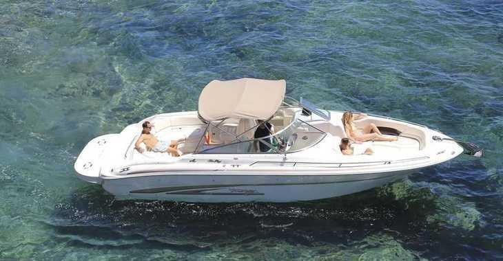 Alquilar barco a motor Sea Ray 280 Bow Rider en Marina Botafoch, Ibiza (ciudad)