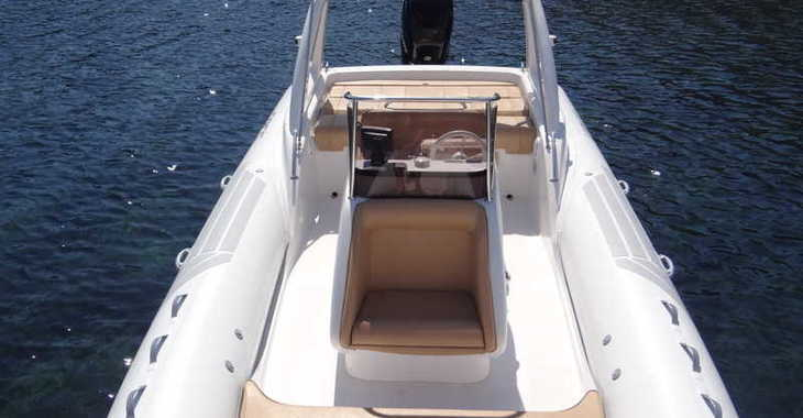 Alquilar barco a motor Sacs Dream Luxe 25 en Marina Botafoch, Ibiza (ciudad)