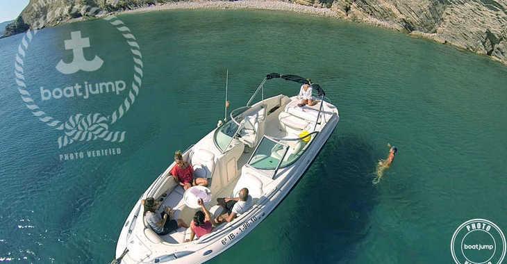 Alquilar barco a motor Monterey 278 Super Sport en Marina Ibiza, Ibiza (ciudad)