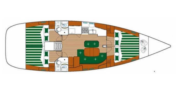 Alquilar velero Oceanis 473 en Trogir (ACI marina), Trogir
