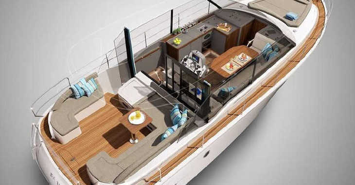 Alquilar barco a motor Bavaria E40 FLY en Marina Baotić, Seget Donji